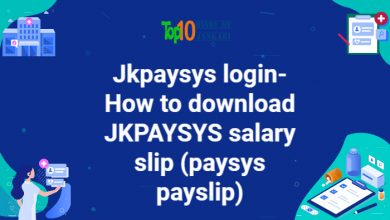 How to download JKPAYSYS salary slip, JKPAYSYS login